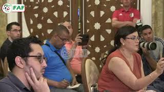 Conférence de presse de Belmadi à Doha ( 10 juin 2019)