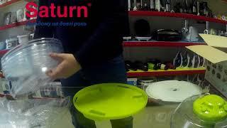 """Сушка для продуктов SATURN ST-FP 0112 (Верхний мотор) от компании Компания """"TECHNOVA"""" - видео"""