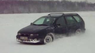 preview picture of video 'Fiat Marea Weekend JTD - Lotnisko Rudniki'