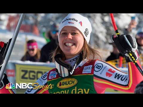 Rebensburg claims 4th World Cup Super-G title at Lake Louise | NBC Sports