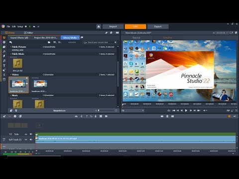 Pinnacle Studio 22 Youtube Video Editing Software Review & Tutorial, How To Fix Circle Grey Arrows