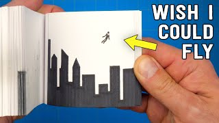 Flying FLIPBOOK // Ever wished you could fly?