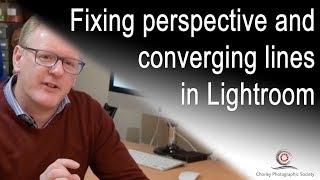 Fixing Converging Lines in Lightroom