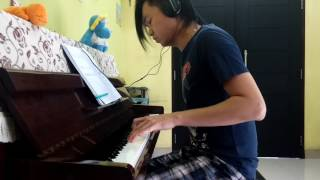 DragonForce - Wings Of Liberty [piano cover]