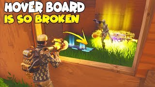 So The Hover Board NEW SCAM is So Broken 😱 Must Watch (Scammer Gets Scammed) Fortnite Save The World