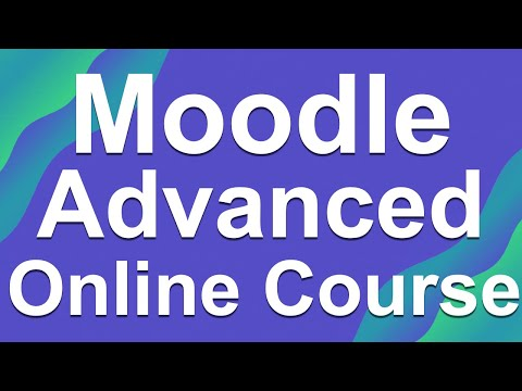 How to Design an Online Course with Moodle - YouTube