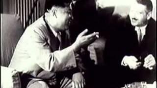 Ким Ир Сен и Энвер Ходжа. Тирана 1956 год
