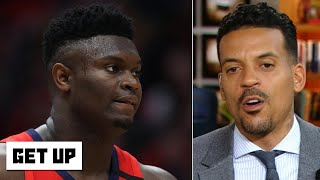 Zion Williamson calls his weight a 'blessing,' not a 'weakness'   Get Up