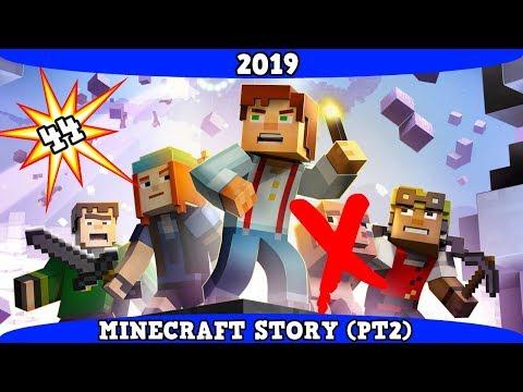 Asi es Minecraft Story Mode (Parte 2) en el 2019 #44