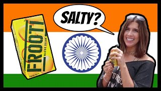 Americans Try FROOTI For the First Time   #Rickshawali