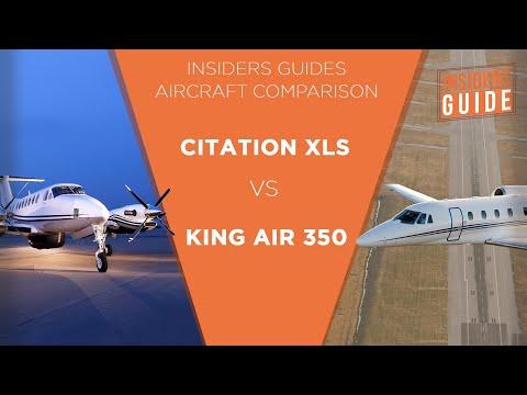 The Insiders Guide Aircraft Comparison Beechcraft King Air 350 Vs Cessna Citation Xls