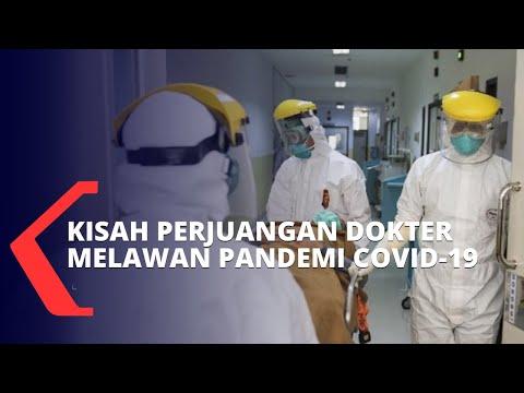 Bukti Dedikasi dan Perjuangan Dokter Selama Pandemi Covid-19