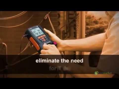 Elektroniczna oprawa zaworowa Testo 550 Coolmarket - zdjęcie