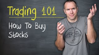 Trading 101: How to Buy Stocks