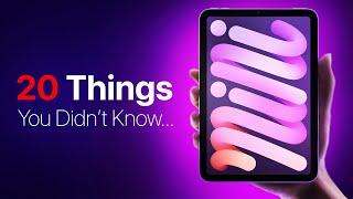 Apple iPad mini (2021) – 20 Things You DIDN'T Know!