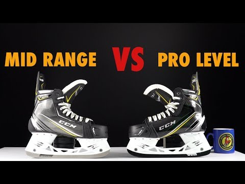 Mid range vs Top Pro Level hockey skates comparison – What is the difference