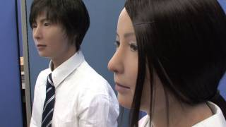 Incredibly realistic male and female android robots from Japan - Actroid-F #DigInfo