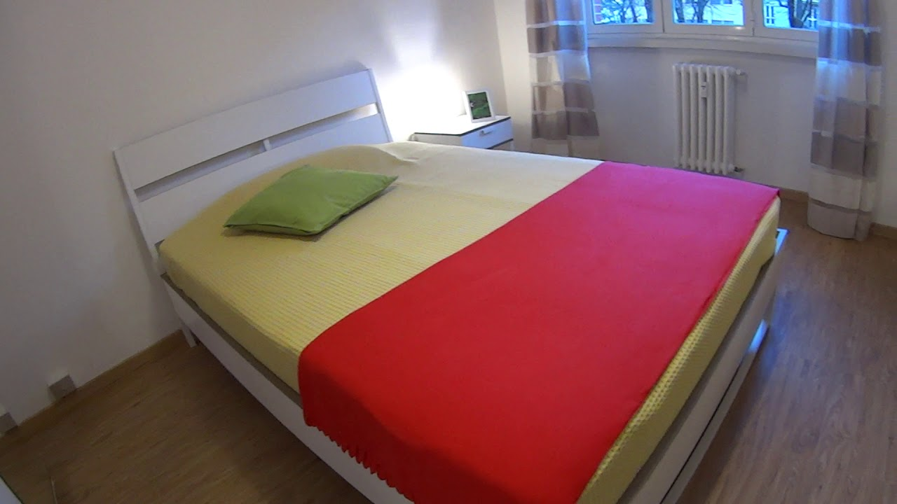 Double bed in Cosy rooms for rent in 3-bedroom apartment in Forze Armate