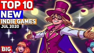 Top 10 Upcoming NEW Indie Games Of July 2020
