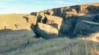 Huge Crack in the Earth Opens Up East of Yellowstone Caldera by Big Horn Mountains