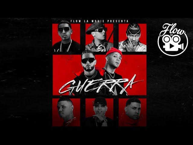 Guerra - Nio Garcia, Darell, Casper, Cosculluela, Pusho, Dozi, Juanka, Quimico (Video Oficial)