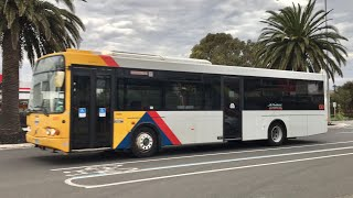 Various TT & LCB Buses Arriving Into Port Adelaide