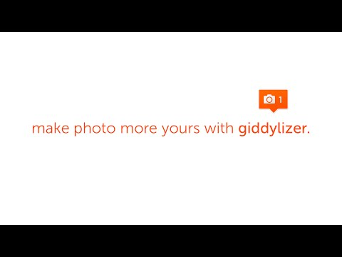 Video of Giddylizer : bubble & stickers
