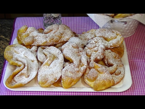 Receta Orejas de carnaval (Receta tradicional) - Recetas de cocina, paso a paso. Loli Domínguez