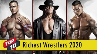 Top 10 WWE Richest Wrestlers In 2020 - Top 10 Richest Wrestlers in The World 2020