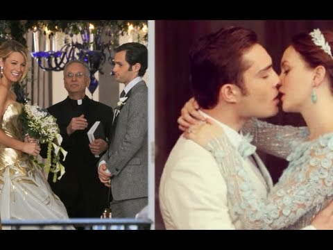 Help gossip girl blair and chuck wedding
