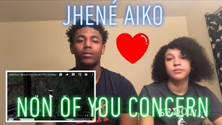 Jhené Aiko   None Of Your Concern (official Video) Reaction