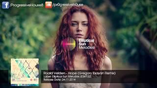 Roald Velden - Hope (Gregory Esayan Remix)