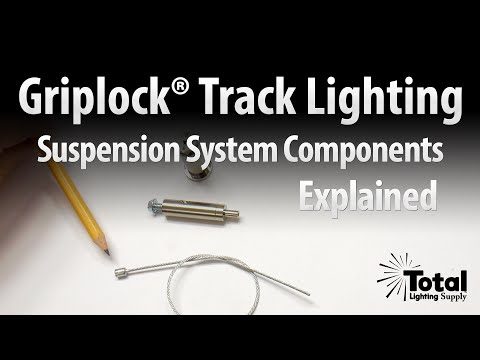 Track Lighting Suspension System Components Explained