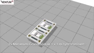 Ventum-S Mecanum Bühnenwagen - Maximal flexibel
