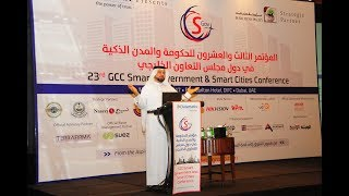 Dr Ahmad Tahlak GCC Smart Cities Conference May, 17th 2017, DIFC Ritz Carlton, Dubai.