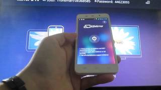 Tronsmart T1000 Mirror2Tv Review with Android Smartphone (ThL W200)