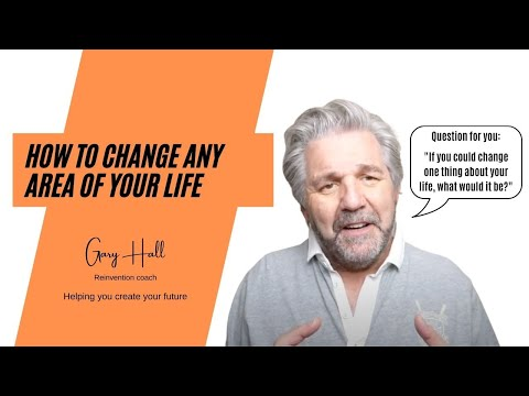 Hi! I'm Gary Hall. I help people change what they don't want in their life any more.