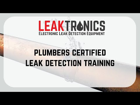 Leak Detection Training For Plumbers - Online with LeakTronics ...