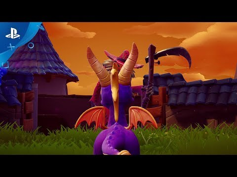 Spyro Reignited Trilogy - All Scaled Up Reveal Trailer | PS4 thumbnail