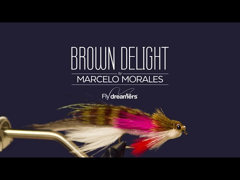 Fly Tying: Brown Delight