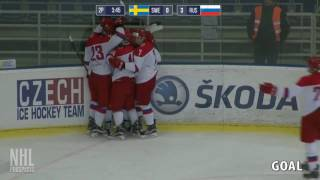 Alexander Khovanov 3G 1A vs Sweden | Feb 10 2017 | U17 5 Nations