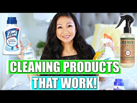 FAVORITE CLEANING PRODUCTS THAT WORK!