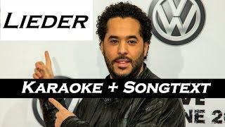 Lieder   Adel Tawil (KaraokeInstrumental) + Songtext   [HD]