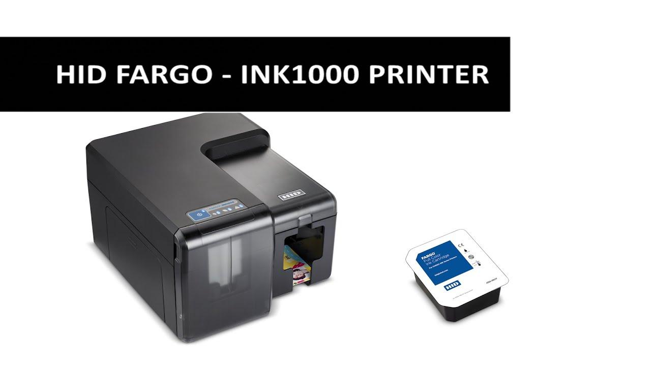 New Video for the HID FARGO INK1000 Inkjet Card Printer