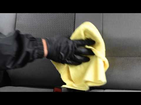 How to Remove Coffee/Tea/Soda stains from cloth seats.