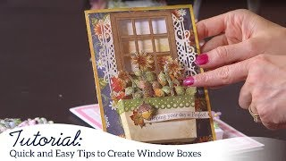 Quick and Easy Tips to Create Window Boxes