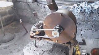 Homemade hammer mill/Low cost hammer mill/Hammer mill/Crusher mill /homemade crusher mill