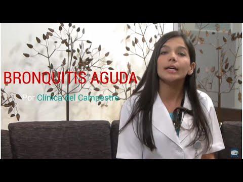 Bronquitis ¿Qué es bronquitis aguda?