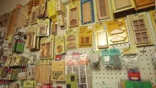 Dollhouse Miniatures Shop Store