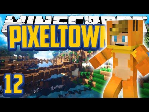 Minecraft Walkthrough - Mods Pixelmon 'Pixeltown' Adventure